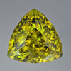 Sphene mohs hardness of 5-5.5 trillion cut