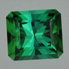 Tourmaline 7 to 7.5 mohs hardness, radiant cut