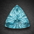 AGTA honorable mention aqua by John  Dyer
