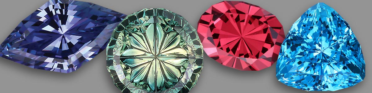 Different gem cuts have different amounts of sparkle, brilliance, scintillation and dispersion