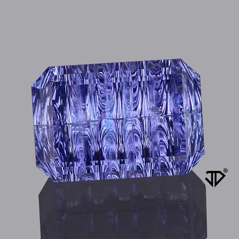 blue sapphire deep concave cut 1.67 cts