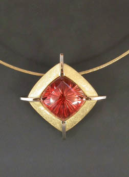 RW Wise sunstone pendant, sunstone by John Dyer & Co.