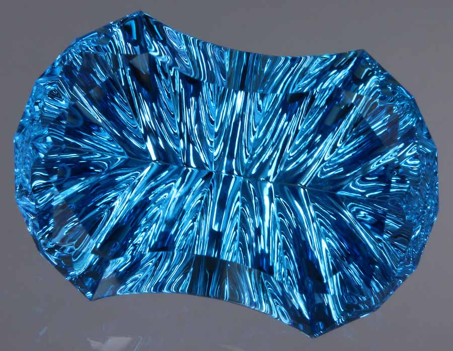 All Swiss Blue Topaz is irradiated
