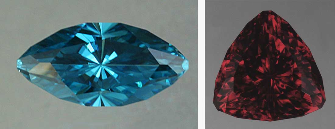 Blue Zircon is always heated to achieve its color.