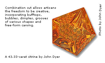 John Dyer gemstone artist article in Jewellery Business Magazine 2009
