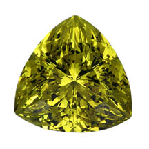 Well-cut lime citrine by John Dyer, Jewellery Business Magazine 2009