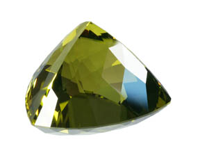 Lime Citrine meet points, John Dyer Gemstone artist