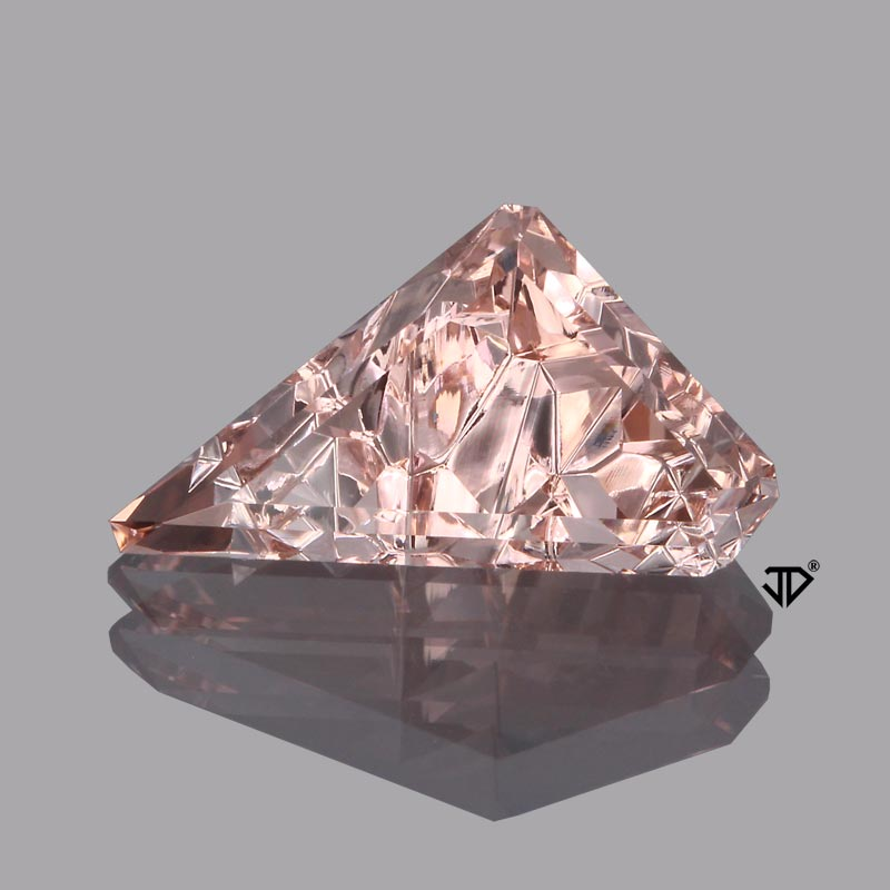 morganite dreamscape cut 2.93cts