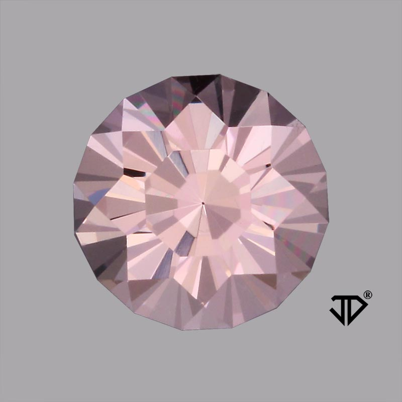 morganite sunburst cut 1.65 cts