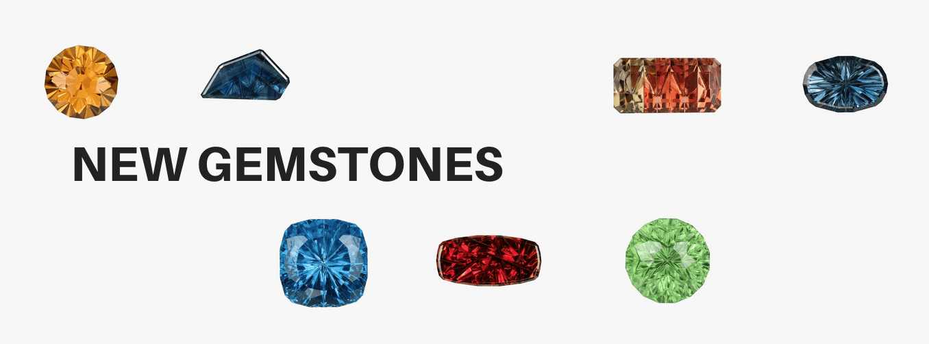 New Gemstones for sale in our catalog