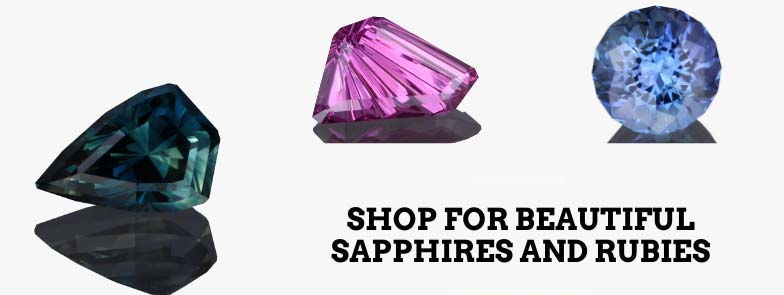 Sapphires and Rubies for sale, buy precison cut garnets in our online catalog