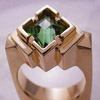 Designer Tourmaline ring in Gold