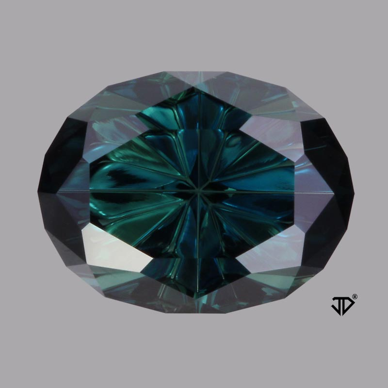 australian sapphire starbrite cut 4.14 cts