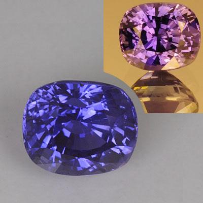 3 36 carat color change sapphire gemstone dyer