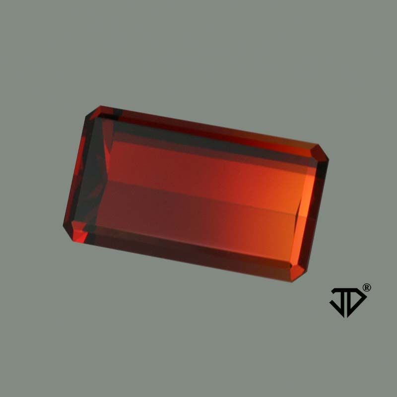 Bicolor Spessartite Garnet gemstone