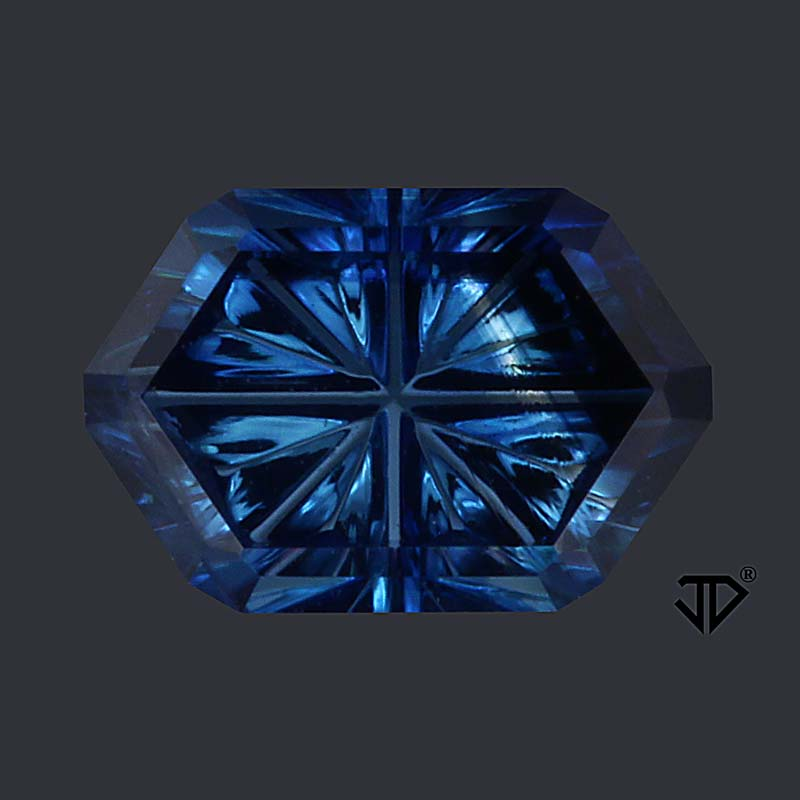 4cb16c84fa8ca Blue Australian Sapphire Gemstone 0.84ct | John Dyer/Precious ...