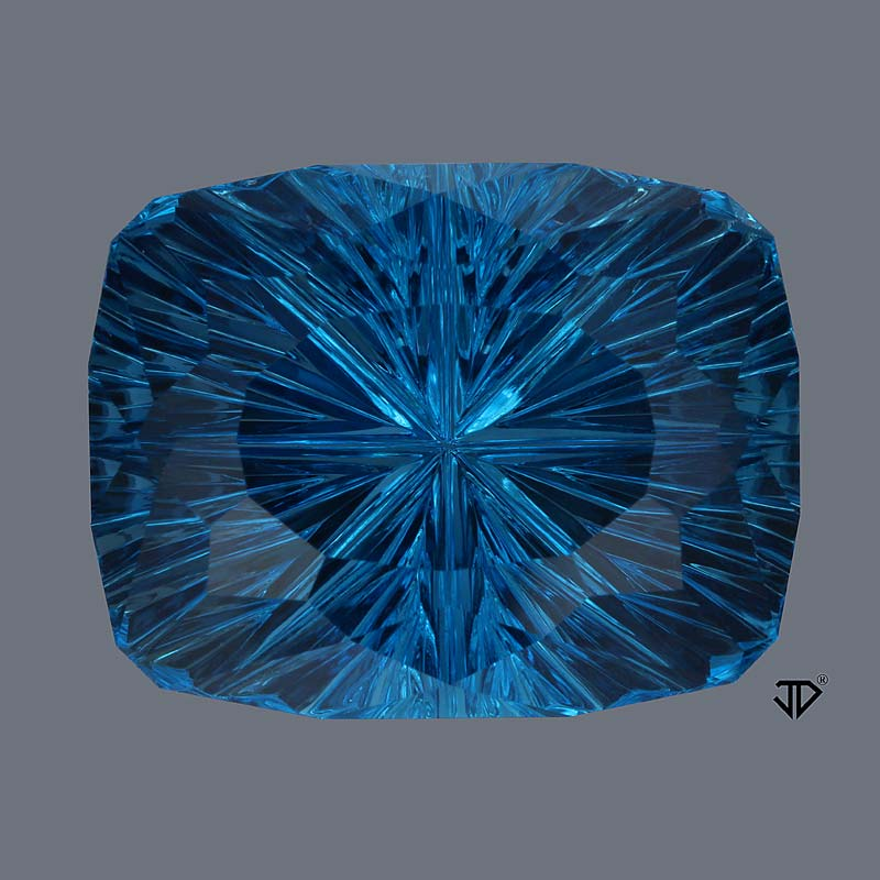 London Blue Topaz gemstone