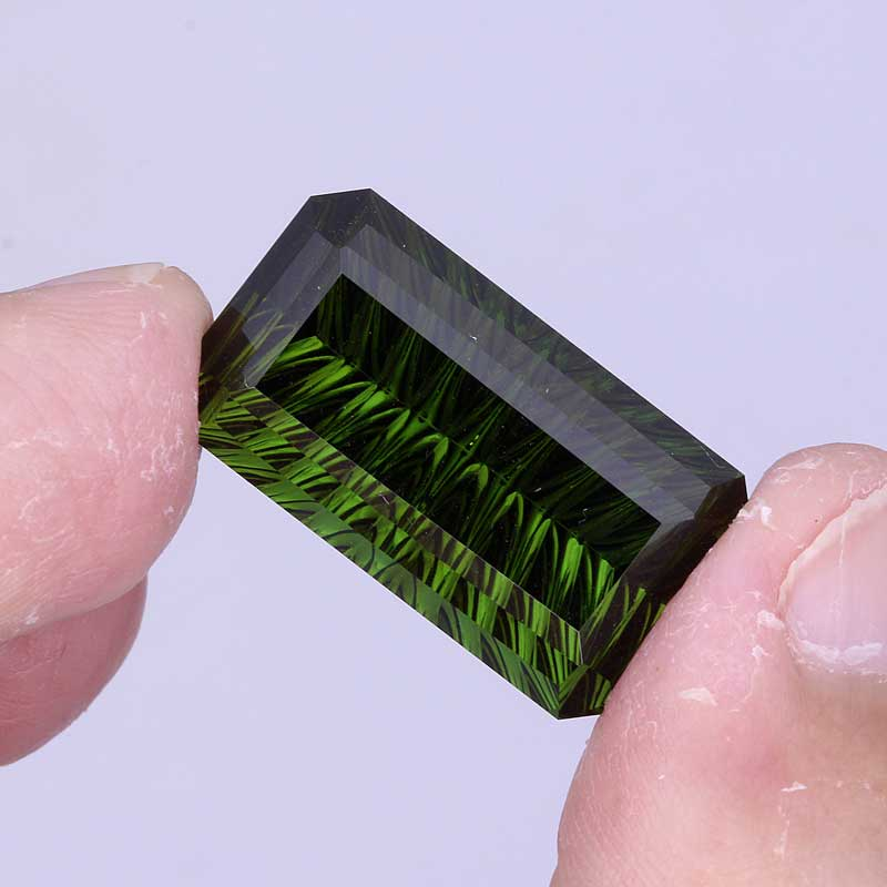 Green Tourmaline view 4