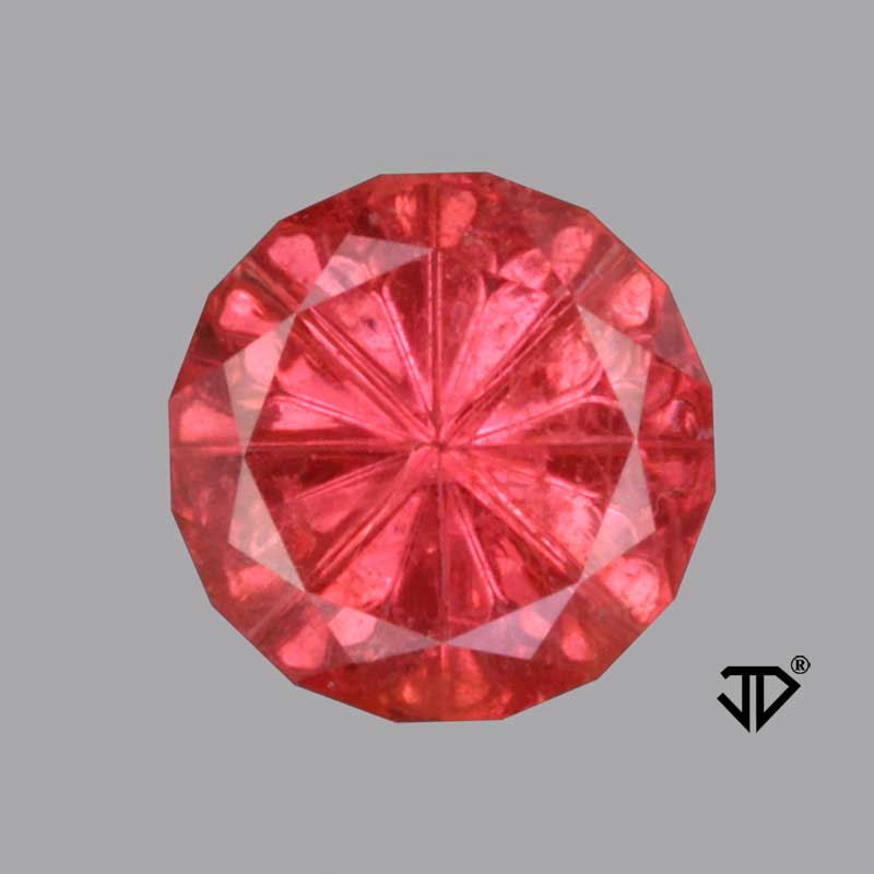 Reddish Orange Sapphire gemstone