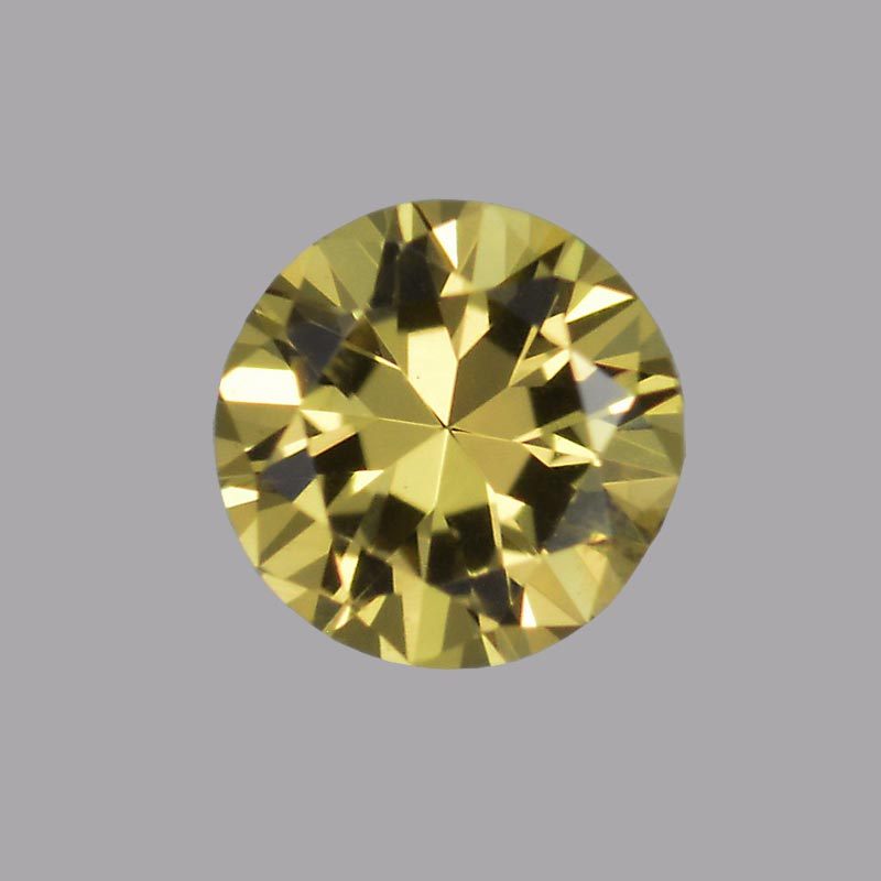 Greenish Yellow Sapphire gemstone