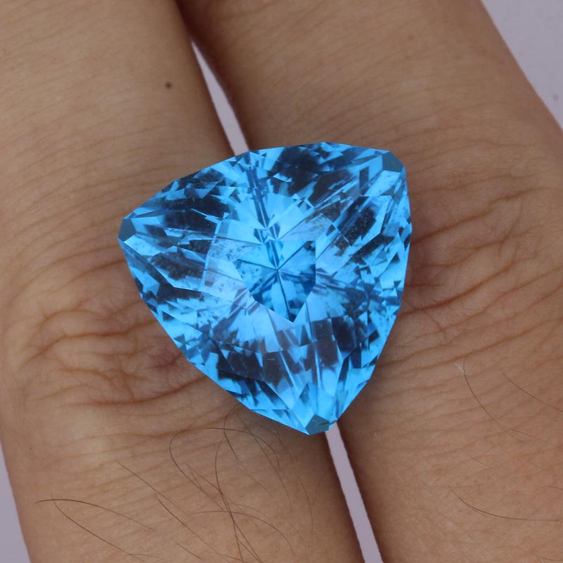Swiss Blue Topaz view 2