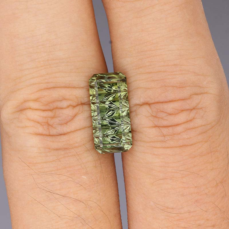 Green Tourmaline view 2