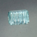 Untreated Aquamarine gemstone