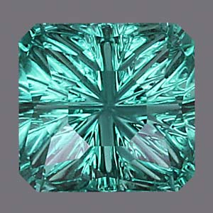 Blue/Green Tourmaline gemstone