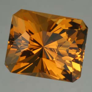 Cognac Citrine gemstone