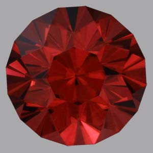 Cinnamon Zircon gemstone