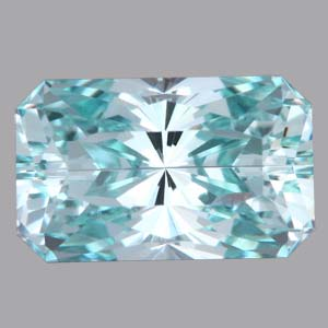 Chrome Beryl gemstone