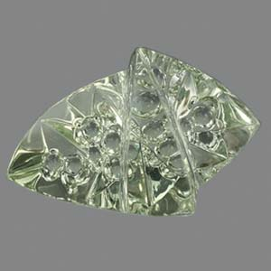 Lime Beryl gemstone