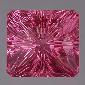 Hot Pink Tourmaline gemstone