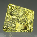 Lime Citrine gemstone
