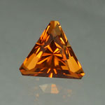 Orange Tourmaline gemstone