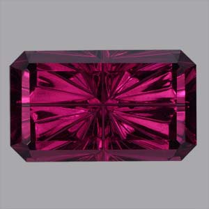 Purple Garnet gemstone