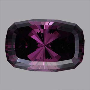 Purple Spinel gemstone