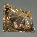Rutilated Quartz gemstone