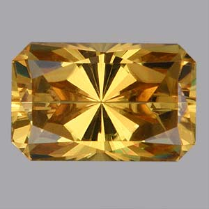 Yellow Tourmaline gemstone